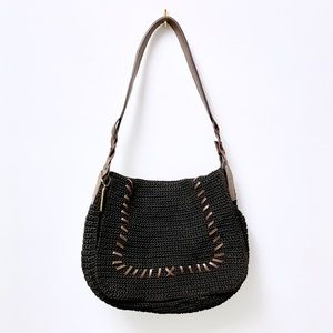 Handbags - 🆕 Boho Crochet Shoulder Bag